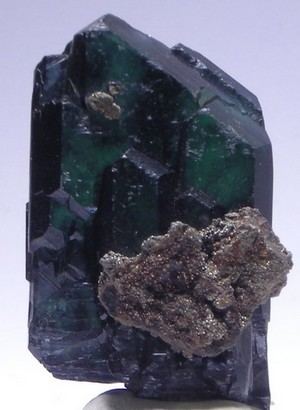 Vivianite, Mine Huanini, Bolivie.